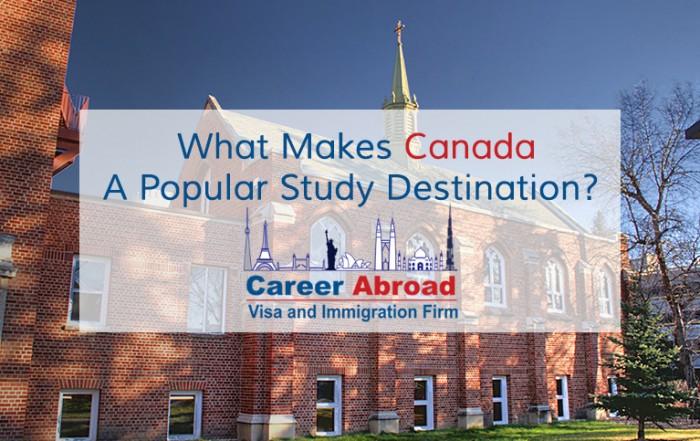 Canada A Popular Study Destination