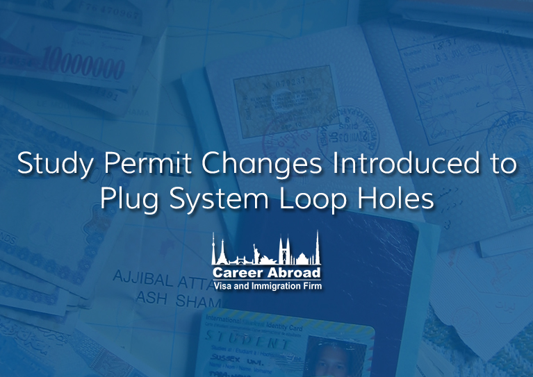 Study Permit Changes Introduced to Plug System Loop Holes
