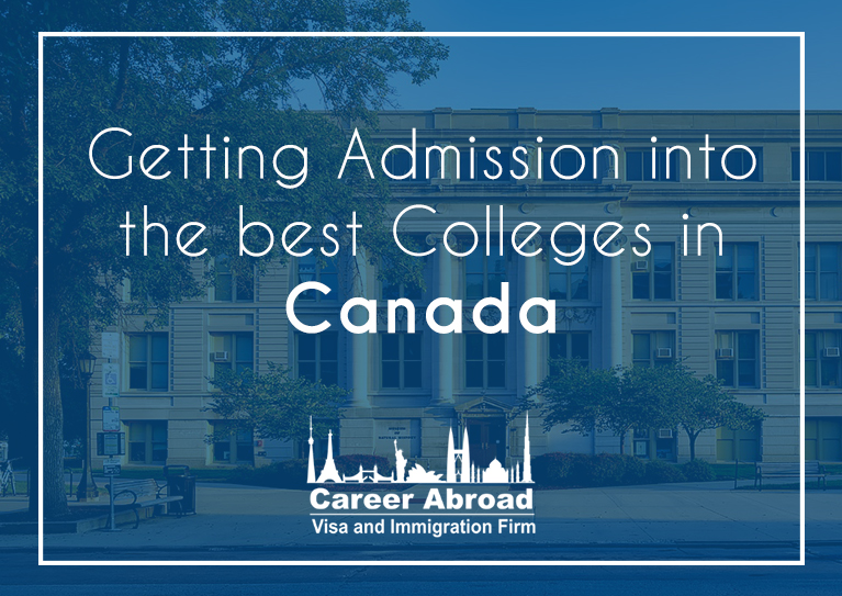 Get admission in the best colleges in Canada with Career Abroad