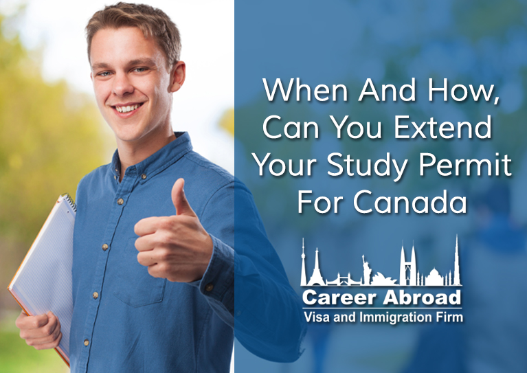 Study Permit For Canada - Career Abroad -21-2-17