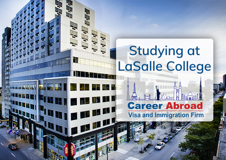 studying at lasalle college studying in canada career