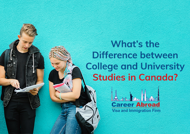 College and University Studies in Canada