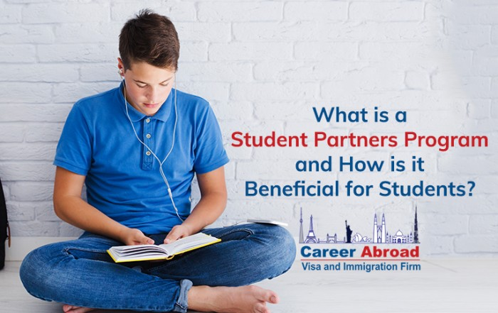 What is a Student Partners Program and How is it Beneficial for Students-Career Abroad