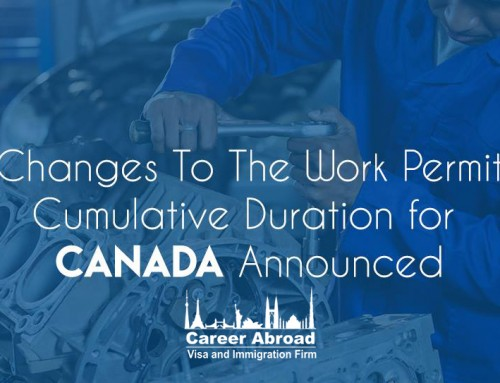 Changes To The Work Permit Cumulative Duration for Canada