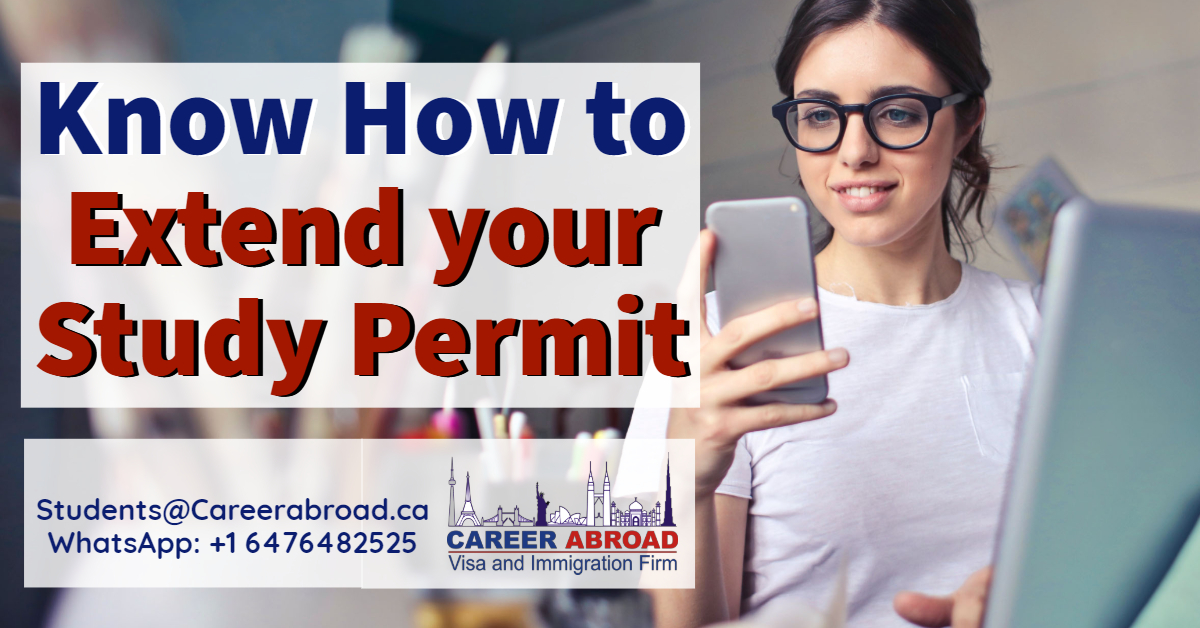 Extent your study permit