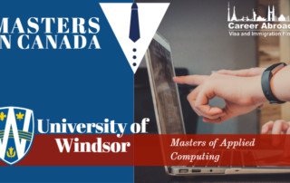 Masters in Canada,Study in Canada| University of Windsor
