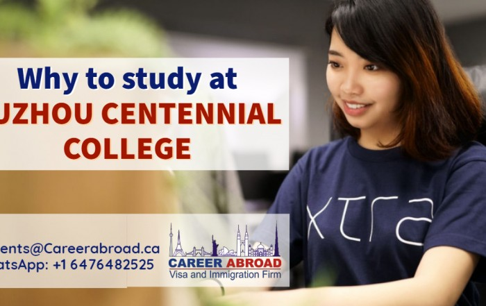 Study at Suzhou Centennial College
