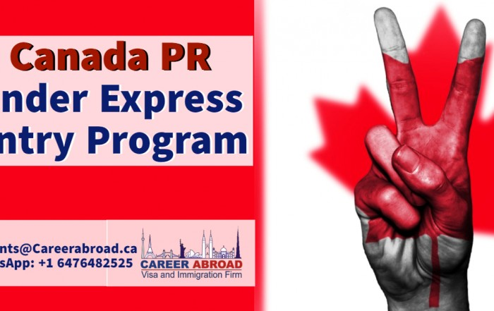 Canada Immigration - PR under Express Entry