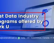 Best Data Industry Programs offered by York u