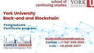 York University Back-end and Blockchain